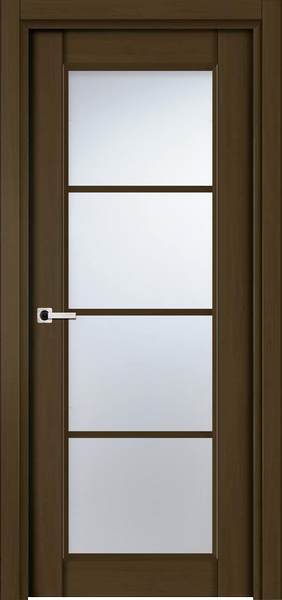 Image Palermo La Luce Interior Door, finish Deep Dark Walnut
