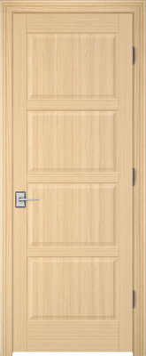 Image PBI 204L Interior Door, finish Oak