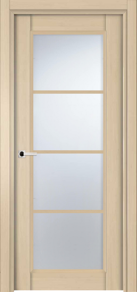 Image Palermo La Luce Interior Door, finish White Alder