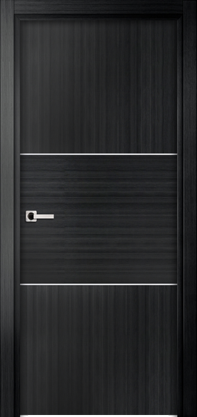 Image Sofia One Interior Door, finish Black Oak