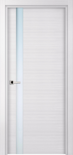 Image Elivia Attento Interior Door, finish White Oak