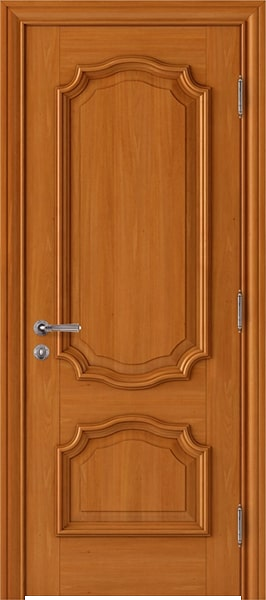 Image Alder Yanitta Interior Door, finish Colonial Maple